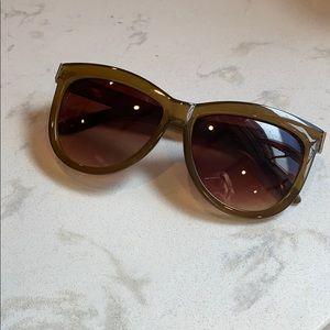 Free People Wayfarer Cateye Blend Sunglasses